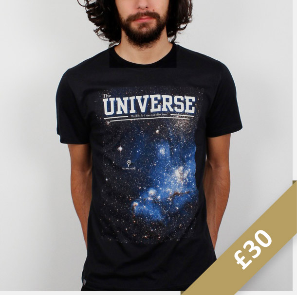 Space Universe Graphic T-Shirt