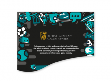BAFTA Games Award Infographic